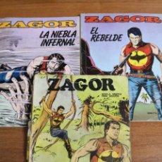 Cómics: ZAGOR, N°5 Y 6 DE 1982. N°5 DE 1972. Lote 232383320
