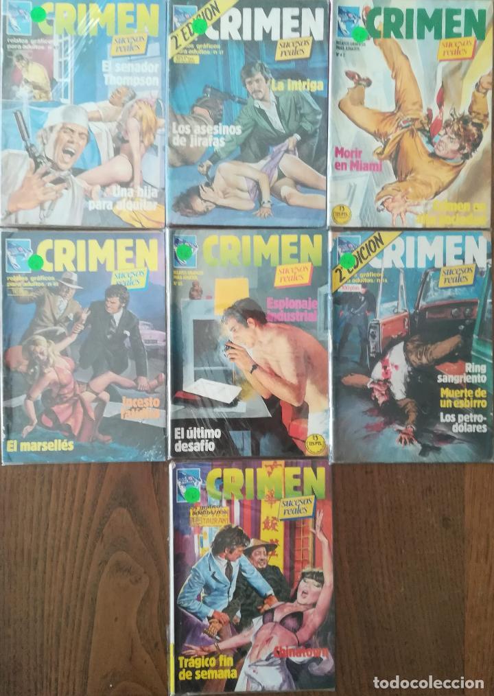 CRIMEN 7 NUMEROS (Tebeos y Comics - Zinco - Otros)