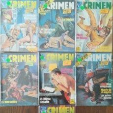 Cómics: CRIMEN 7 NUMEROS. Lote 232859185