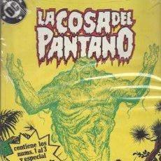 Cómics: LA COSA DEL PANTANO - RETAPADO 1 AL 3 + ESPECIAL NAVIDAD - AMERICAN GOTHIC - PRECINTADO A ESTRENAR. Lote 233081270