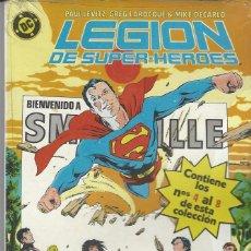 Cómics: LEGION DE SUPER HEROES SUPERHEROES - RETAPADO - NUMEROS 4 AL 8 - MUY BUEN ESTADO. Lote 233089375