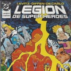 Cómics: LEGION DE SUPER HEROES SUPERHEROES - RETAPADO - NUMEROS 14 AL 18 - MUY BUEN ESTADO. Lote 233089560