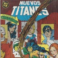 Cómics: NUEVOS TITANES VOL. 1 - RETAPADO - NºS 43 AL 47 - PERFECTO ESTADO !!. Lote 233090450