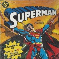 Cómics: SUPERMAN VOL. 2 - RETAPADO - NºS 6 AL 10 - PERFECTO ESTADO, NUEVO !!. Lote 287638278