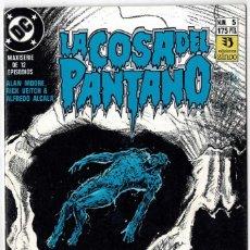 Cómics: LA COSA DEL PANTANO NO. 5. Lote 233196965