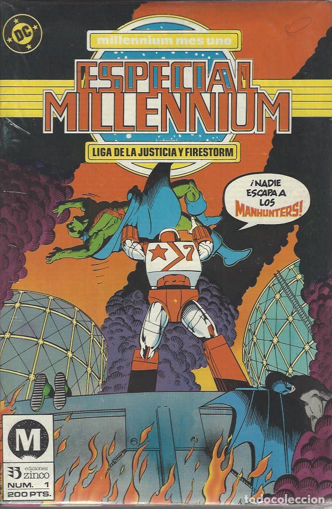 ESPECIAL MILLENNIUM - 12 NºS - COMPLETA - MUY BUEN ESTADO !!! (Tebeos y Comics - Zinco - Millenium)