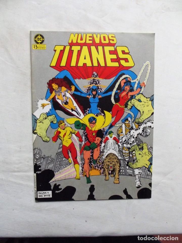 NUEVOS TITANES Nº 1 EDICIONES ZINCO (Tebeos y Comics - Zinco - Nuevos Titanes)