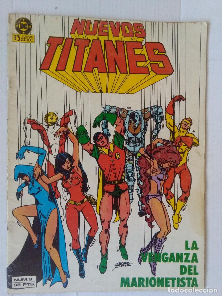 NUEVOS TITANES 9 PRIMERA EDICION-ZINCO (Tebeos y Comics - Zinco - Nuevos Titanes)