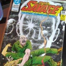 Cómics: DOC SAVAGE.. DE O´NEILL & KUBERT (ZINCO, 1990) - 1 A 4 - RETAPADO - COMPLETA. Lote 233358025