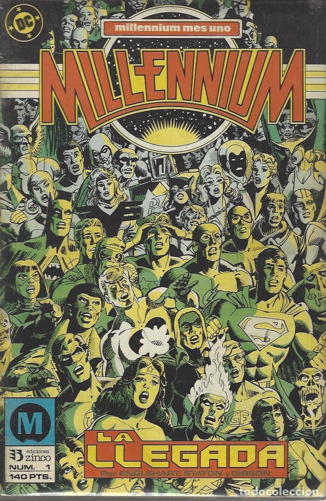 MILLENNIUM COMPLETA - 8 NºS - MUY BUEN ESTADO !! (Tebeos y Comics - Zinco - Millenium)