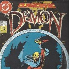 Cómics: DEMON - CLASICOS DC - 4 NºS - COMPLETA - MUY BUEN ESTADO !!. Lote 294517593