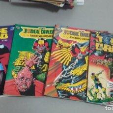 Cómics: X LOTE JUDGE DREDD Nº 2, ARCHIVOS DEL CRIMEN III Y IV Y EN BUSCA DEL NIÑO JUEZ (POSIBLE SUELTOS). Lote 233688185