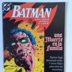 Fumetti: BATMAN 3-UNA MUERTE EN FAMILIA. Lote 233703480