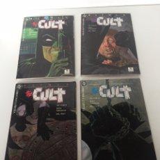 Cómics: BATMAN THE CULT ( ZINCO ) ORIGINAL 1989 COMPLETA. Lote 233762645