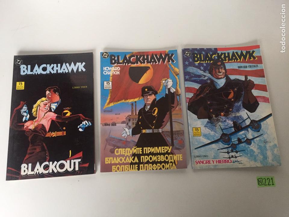 BLACKHAWK - COLECCIÓN COMPLETA DEL 1 AL 3 HOWARD CHAYKIN - EDICIONES ZINCO (Tebeos y Comics - Zinco - Otros)
