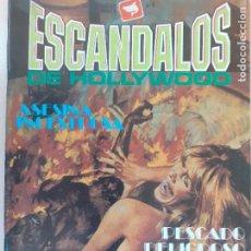 Comics: REALTOS GRÁFICOS PARA ADULTOS. ESCÁNDALOS DE HOLLYWOOD Nº 4. EDITA ZINCO 1988. MUY BUENO. Lote 233875235