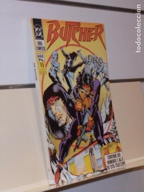 RETAPADO BUTCHER COMPLETA CONTIENE LOS Nº 1-2-3-4 Y 5 DE LA COLECCION - ZINCO (Tebeos y Comics - Zinco - Retapados)