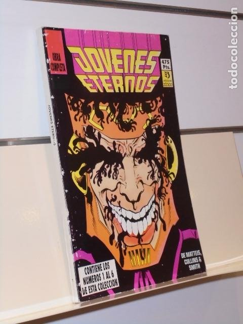 RETAPADO JOVENES ETERNOS COMPLETA CONTIENE LOS Nº 1-2-3-4-5 Y 6 DE LA COLECCION - ZINCO (Tebeos y Comics - Zinco - Retapados)