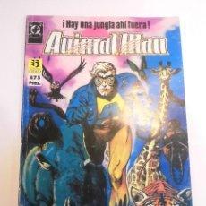 Cómics: RETAPADO CON CINCO COMICS DE ANIMAL MAN - NUMS 1 AL 5. Lote 233913815