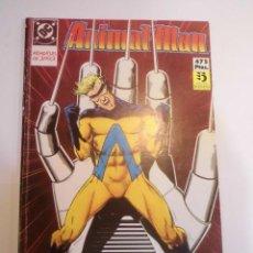 Cómics: RETAPADO CON CINCO COMICS DE ANIMAL MAN - NUMS 11 AL 15. Lote 233914160