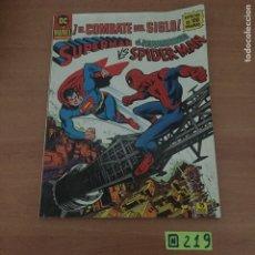 Comics : ¡EL COMBATE DEL SIGLO! SUPERMAN EL ASOMBROSO VS SPIDERMAN - GRAN FORMATO. Lote 234023215