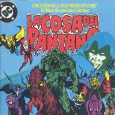 Cómics: LA COSA DEL PANTANO Nº12. EDICIONES ZINCO, 1988. ALAN MOORE. Lote 234108405