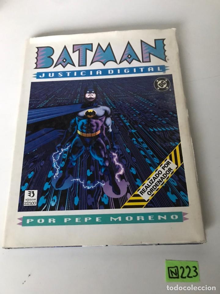 BATMAN JUSTICIA DIGITAL - EDICIONES ZINCO (Tebeos y Comics - Zinco - Batman)