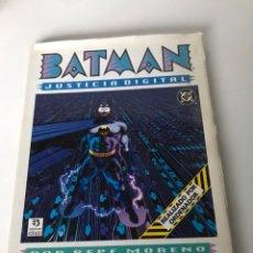 Cómics: BATMAN JUSTICIA DIGITAL - EDICIONES ZINCO. Lote 234177655