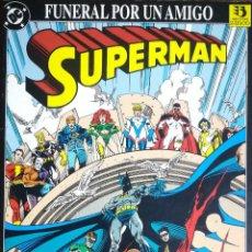 Cómics: SUPERMAN FUNERAL POR UN AMIGO. Lote 234509520