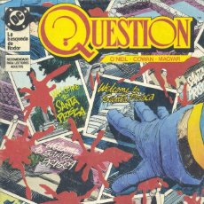 Cómics: QUESTION Nº10. EDICIONES ZINCO, 1988. Lote 234578160