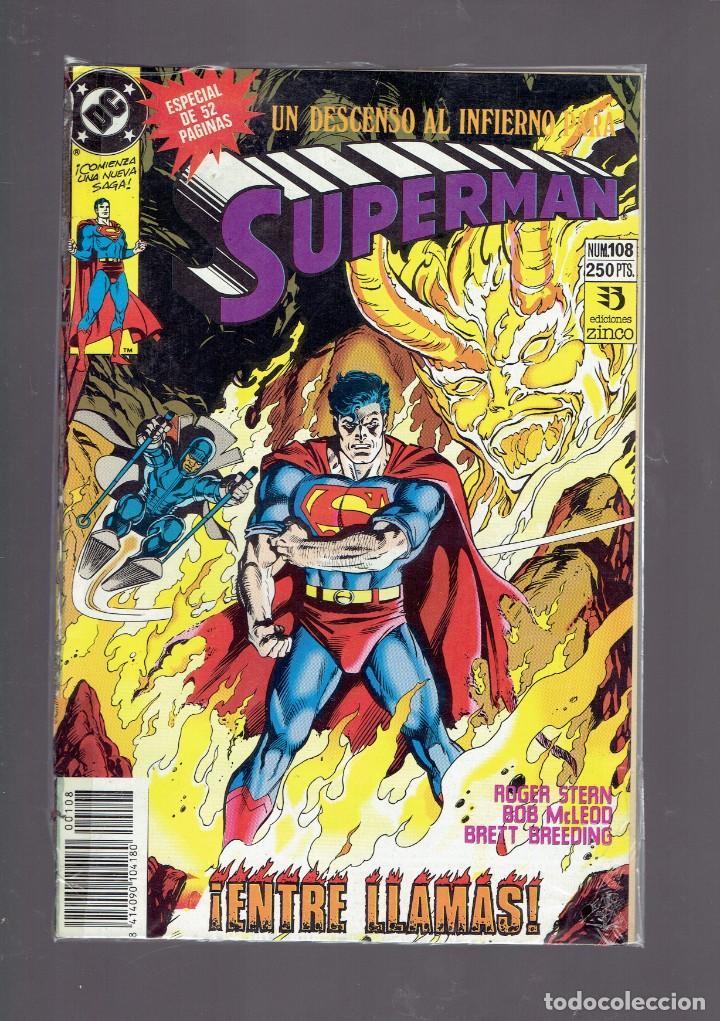 Cómics: LOTE 15 COMICS DE SUPERMAN DC POR JURGENS Y THIBERT EDICIONES ZINCO S.A. 1984 - Foto 5 - 234788325