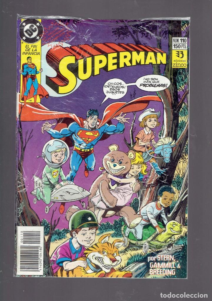 Cómics: LOTE 15 COMICS DE SUPERMAN DC POR JURGENS Y THIBERT EDICIONES ZINCO S.A. 1984 - Foto 7 - 234788325