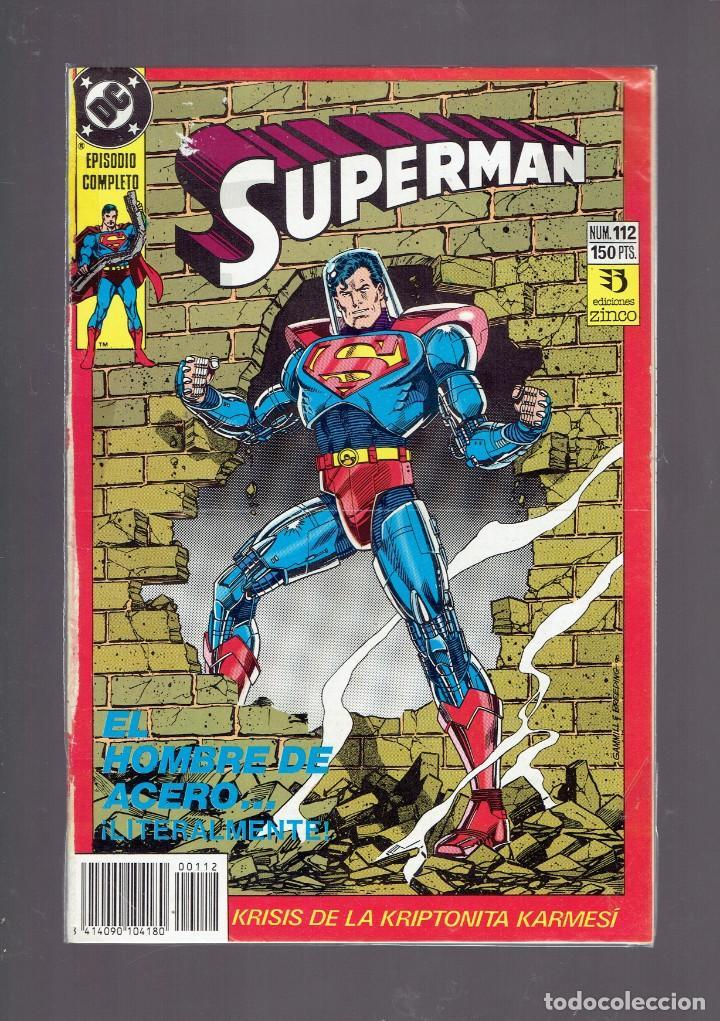 Cómics: LOTE 15 COMICS DE SUPERMAN DC POR JURGENS Y THIBERT EDICIONES ZINCO S.A. 1984 - Foto 9 - 234788325