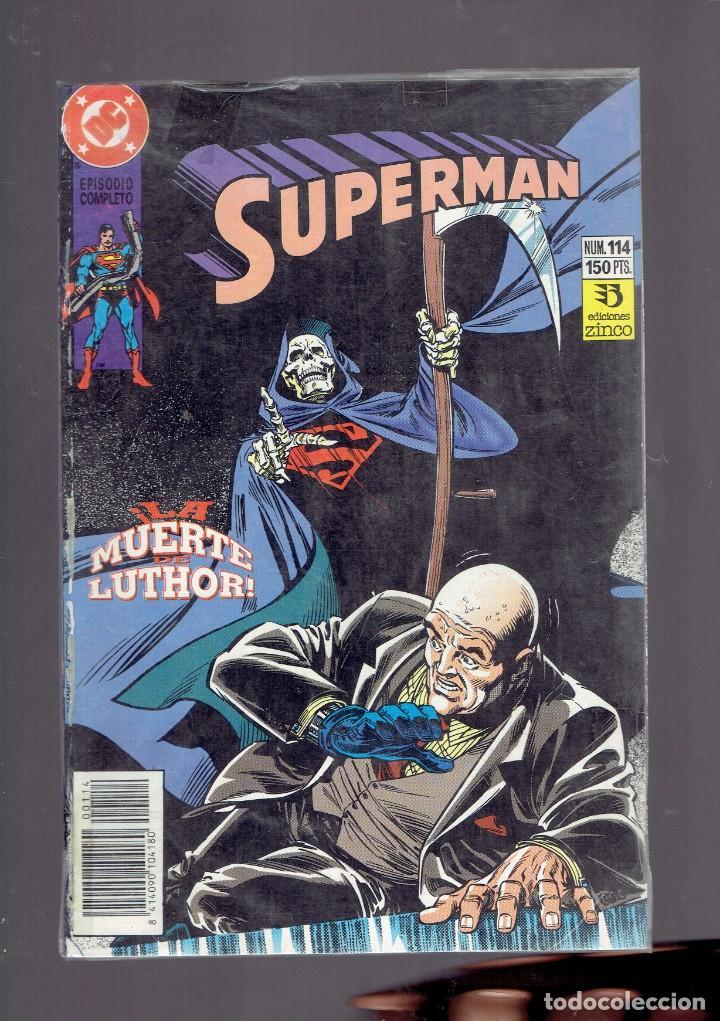 Cómics: LOTE 15 COMICS DE SUPERMAN DC POR JURGENS Y THIBERT EDICIONES ZINCO S.A. 1984 - Foto 11 - 234788325