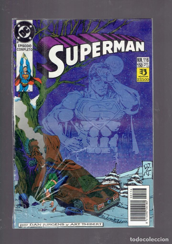 Cómics: LOTE 15 COMICS DE SUPERMAN DC POR JURGENS Y THIBERT EDICIONES ZINCO S.A. 1984 - Foto 13 - 234788325