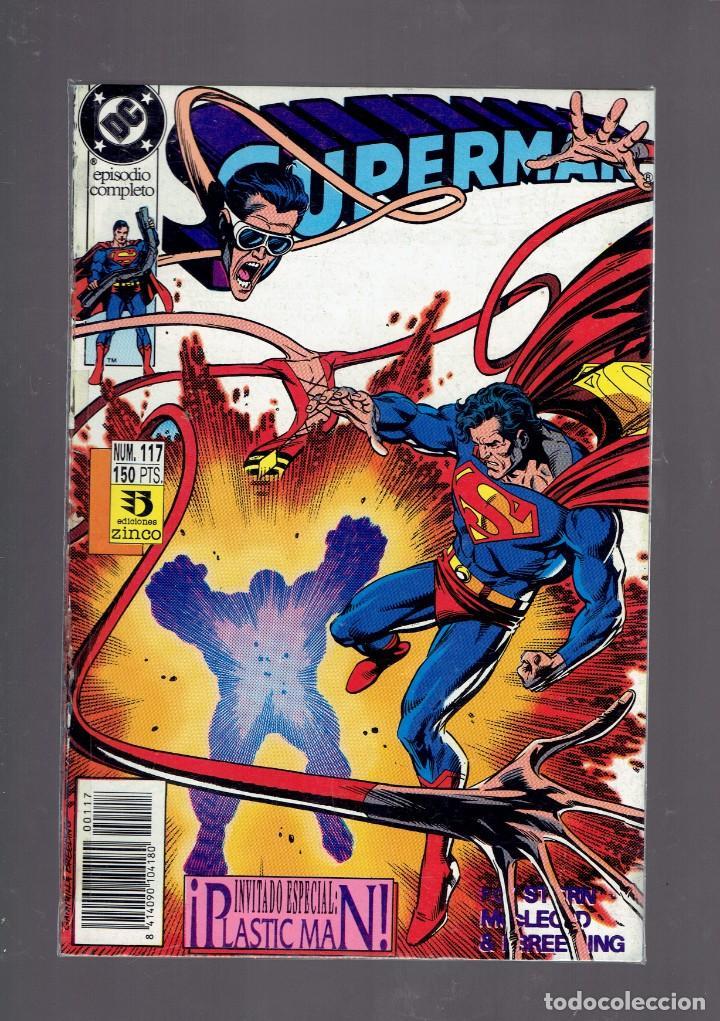 Cómics: LOTE 15 COMICS DE SUPERMAN DC POR JURGENS Y THIBERT EDICIONES ZINCO S.A. 1984 - Foto 14 - 234788325