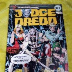 Cómics: JUDGE DREDD N 3 EDICIONES ZINCO 1984. Lote 234972705
