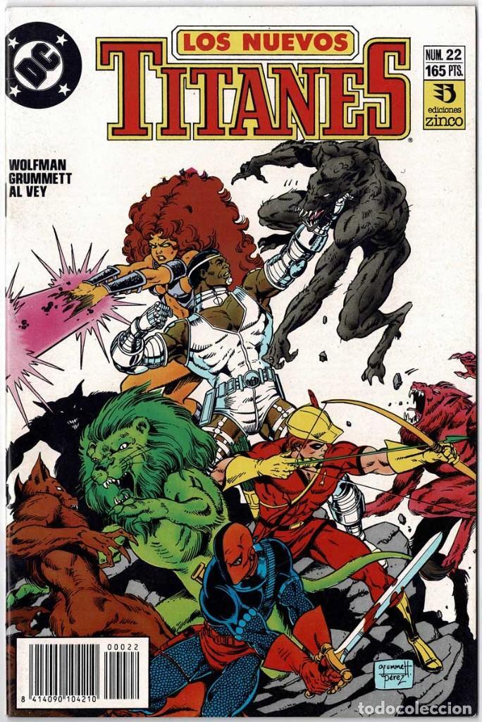 LOS NUEVOS TITANES NO. 22 (Tebeos y Comics - Zinco - Nuevos Titanes)