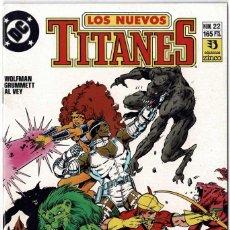 Cómics: LOS NUEVOS TITANES NO. 22. Lote 235006250