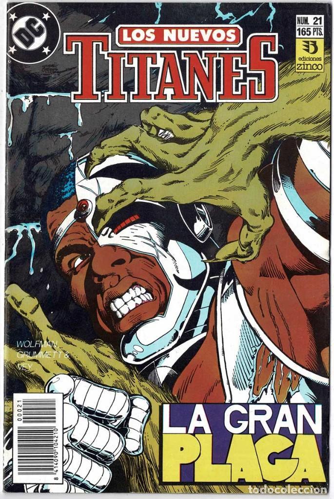 LOS NUEVOS TITANES NO. 21 (Tebeos y Comics - Zinco - Nuevos Titanes)