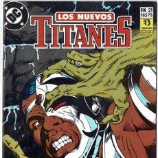 Cómics: LOS NUEVOS TITANES NO. 21. Lote 235006620