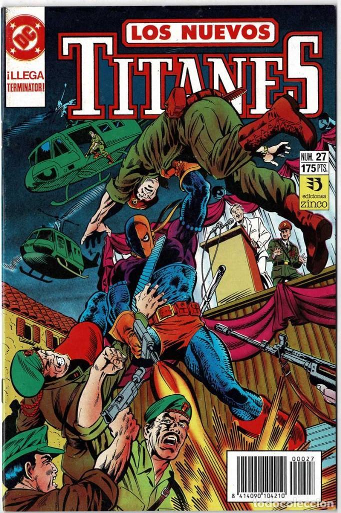 LOS NUEVOS TITANES NO. 27 (Tebeos y Comics - Zinco - Nuevos Titanes)