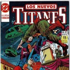 Cómics: LOS NUEVOS TITANES NO. 27. Lote 235007000