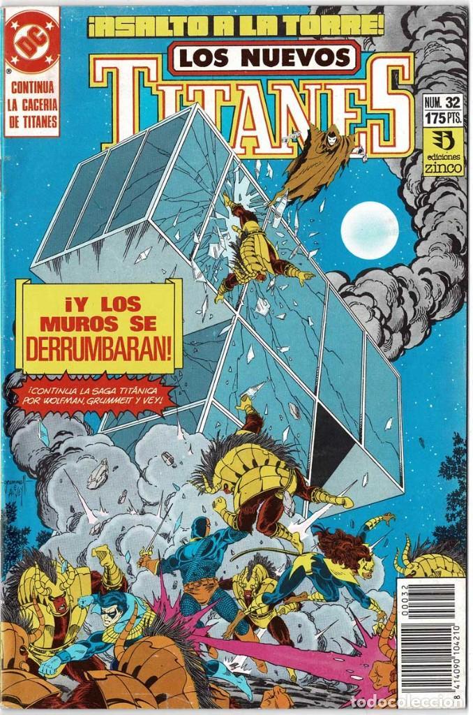 LOS NUEVOS TITANES NO. 32 (Tebeos y Comics - Zinco - Nuevos Titanes)