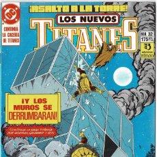 Cómics: LOS NUEVOS TITANES NO. 32. Lote 235007495