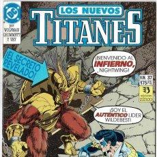 Cómics: LOS NUEVOS TITANES NO. 37. Lote 235008625