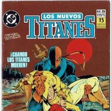 Cómics: LOS NUEVOS TITANES NO. 29. Lote 235009035