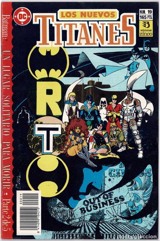 LOS NUEVOS TITANES NO. 19 (Tebeos y Comics - Zinco - Nuevos Titanes)