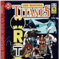 Cómics: LOS NUEVOS TITANES NO. 19. Lote 235009470