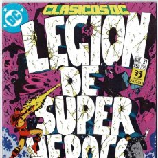 Cómics: CLÁSICOS DC. LEGIÓN DE SUPER HÉROES NO. 21. Lote 235010825